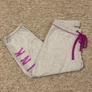 Victoria Secret PINK capri sweatpants